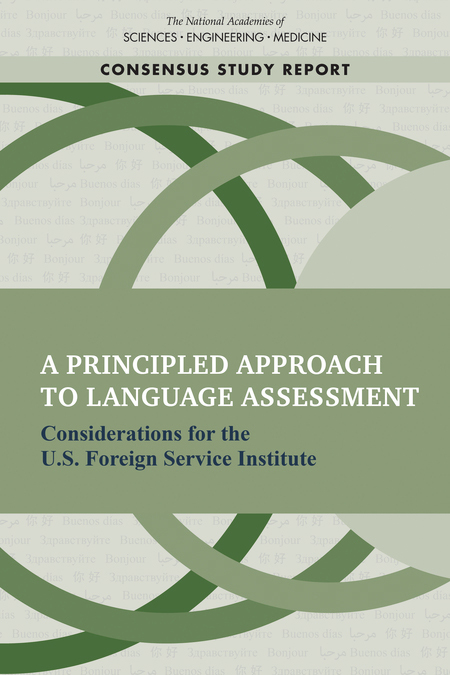 View Report: A principle approach to language assessment
