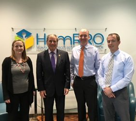 Congressman Yarmuth and HumRRO Staff